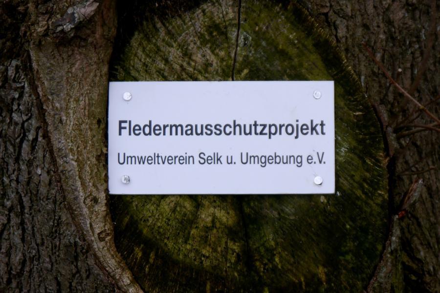 Umweltverein Schild
