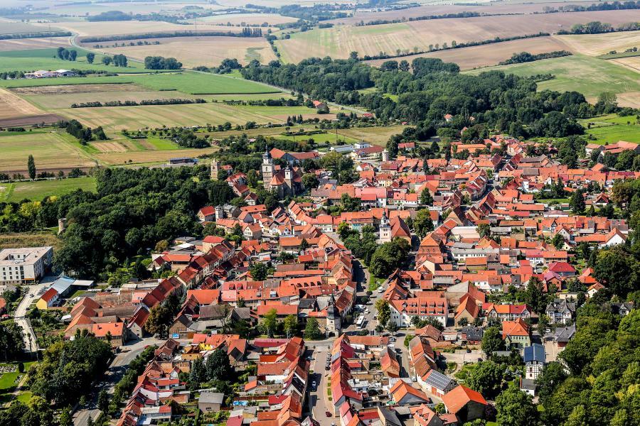 Blick auf Bad Tennstedt