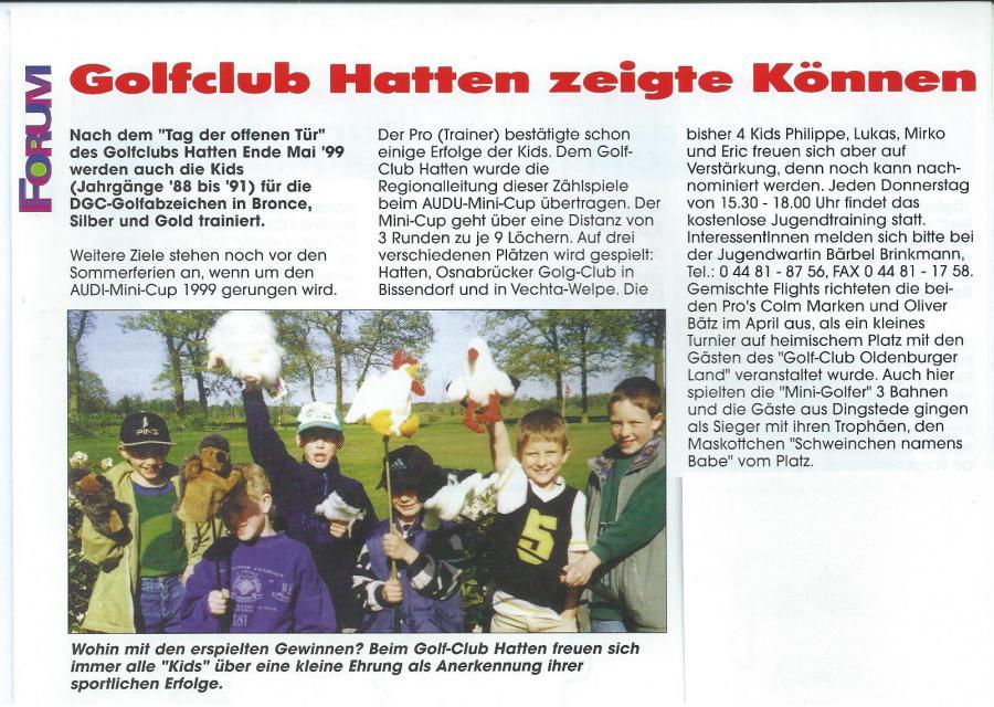 Forum Hatten Mai 1999