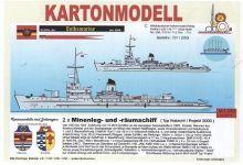 BB Minenleg- u. Räumschiff Typ Habicht
