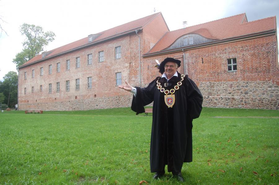 Kastellan der Burg Storkow