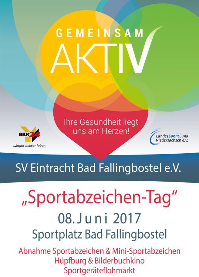 Plakat Sportabzeichentag
