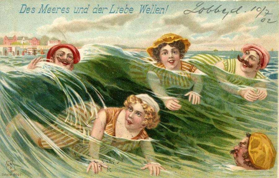 Des Meeres und der Liebe Wellen !