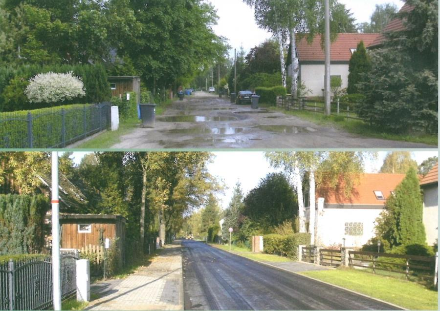 Anliegerstraßenbau in Falkensee