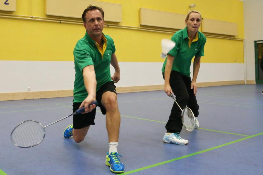 Badminton-Training Wasser 75