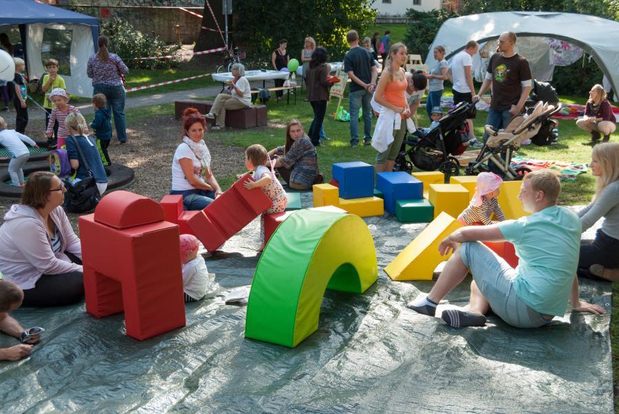 Familientag im Puschkinpark 2015