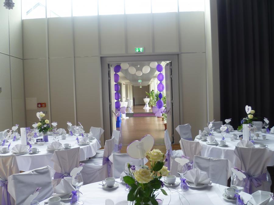 Dekoration Pinsenberghalle Foto 5