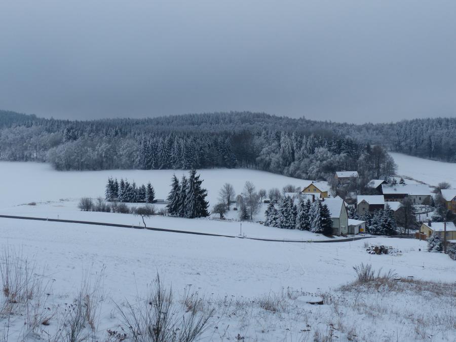 Großkunitz im Winter