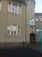 Eingang Sporthalle