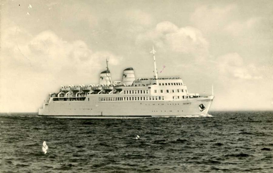 Fährschiff Saßnitz 1960