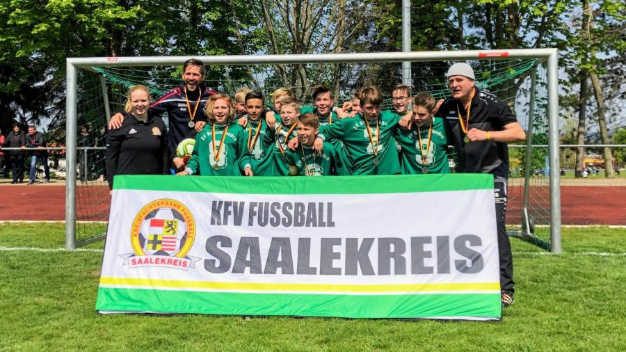 JSG Geiseltal // Kreispokalsieger D-Junioren 2018/2019