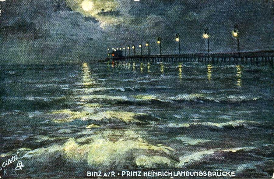 Binz a. R. Prinz Heinrich Landungsbrücke