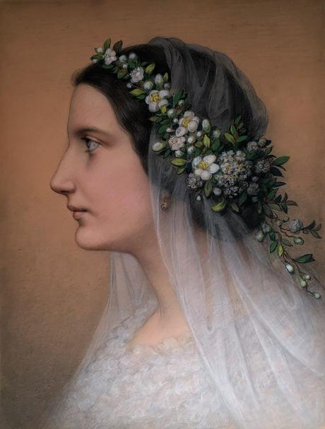 Marie Ellenrieder, Friederike Martignoni als Braut, 1859  ©The Jack Daulton Collection, Los Altos Hills California