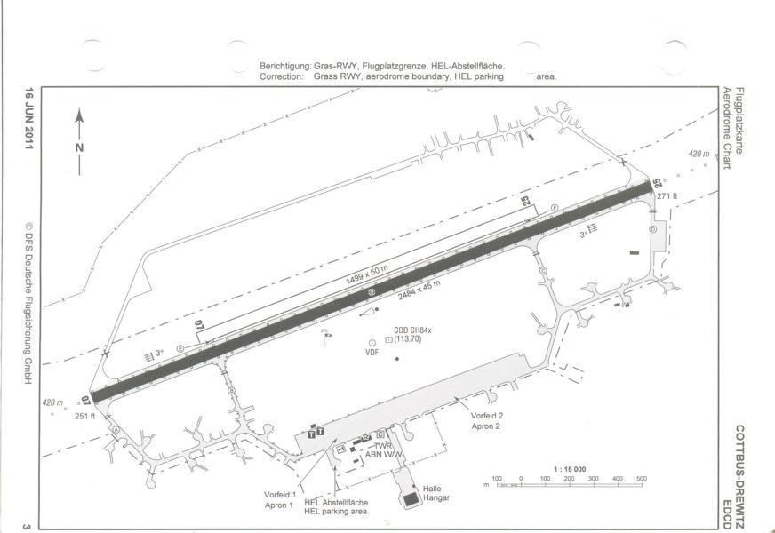Aerodrome Chart EDCD