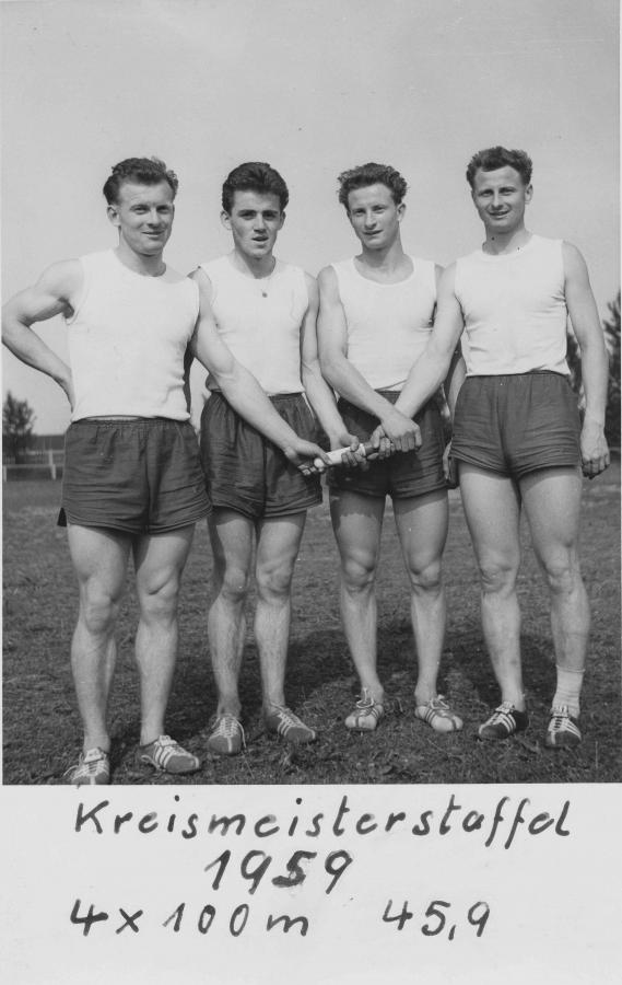 Kreismeisterstaffel 1959