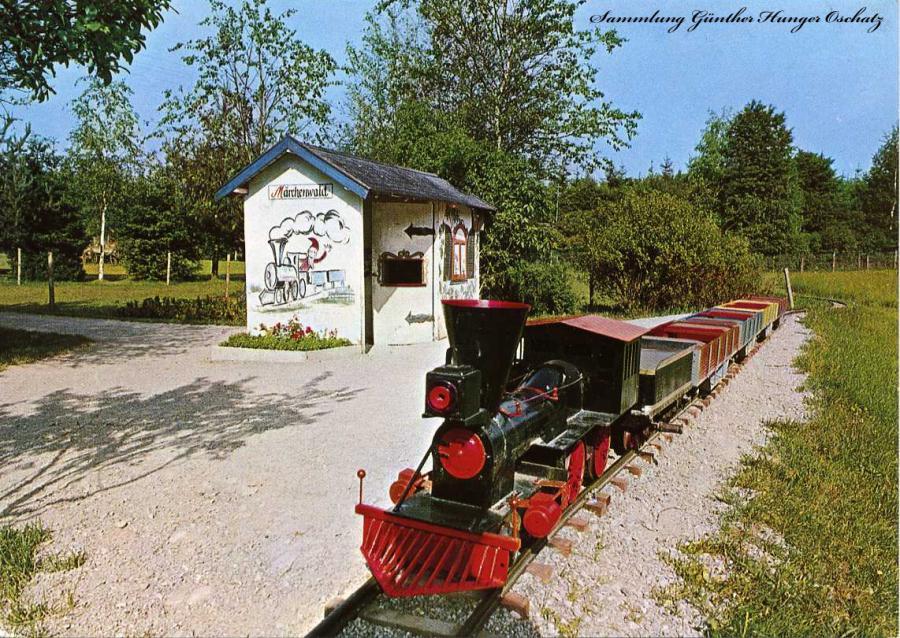 Oldtimer -Eisenbahn Schongauer Märchenwald