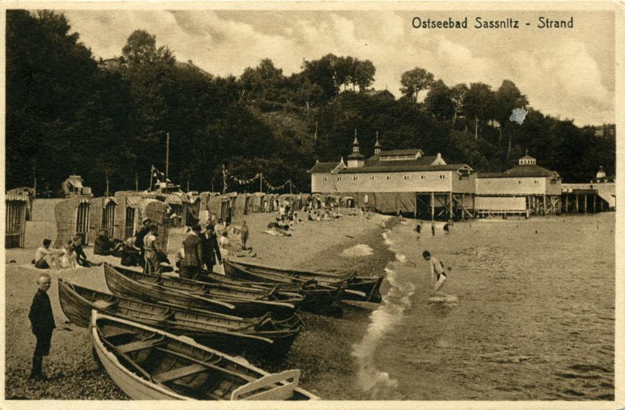 9 Ostssebad Sassnitz - Strand