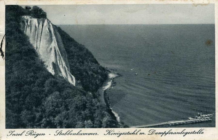9 Stubbenkammer und Königsstuhl 1938