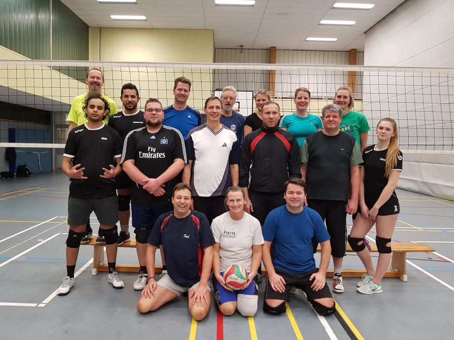 Volleyball Mixed-Gruppe ( Montag)