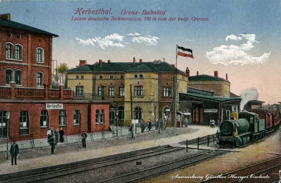 Herbesthal Grenz-Bahnhof