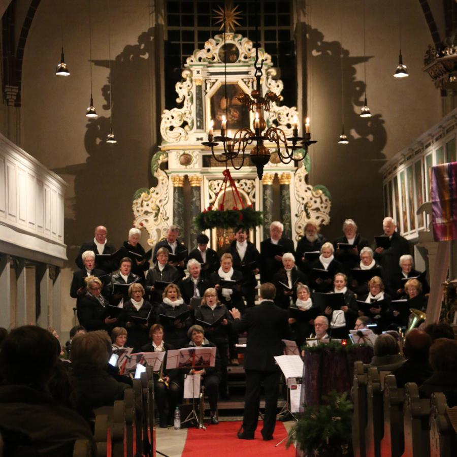 Adventskonzert am 3. Dezember 2017 in Kremmen