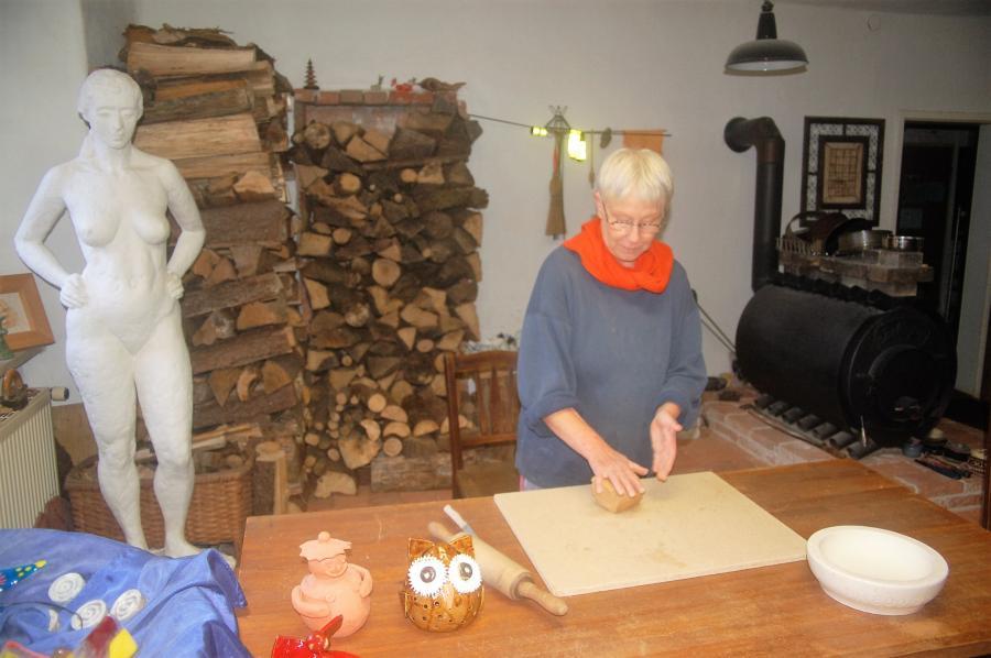 Töpfern im Forsthaus Siegmundsburg