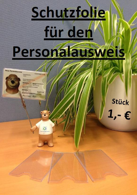 Schutzfolie Personalausweis