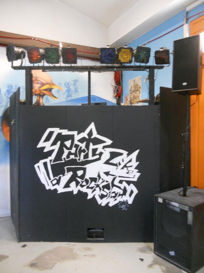 DJ-Pult Musikanlage