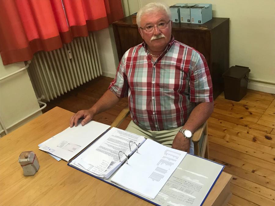Ortsbürgermeister Peter Görgen