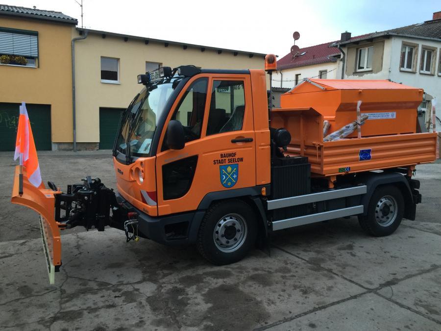 Multicar mit Winterdienstausrüstung 1