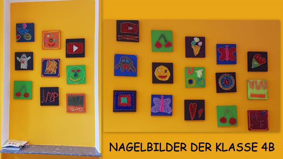 Nagelbilder Kl. 4b