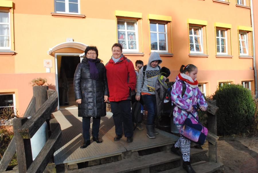 Besuch der Gastlehrerin aus Kasachstan 1