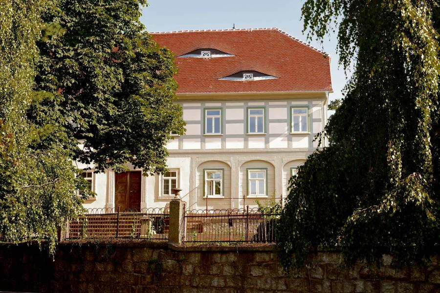 Umgebindehaus an der Rumburger Straße