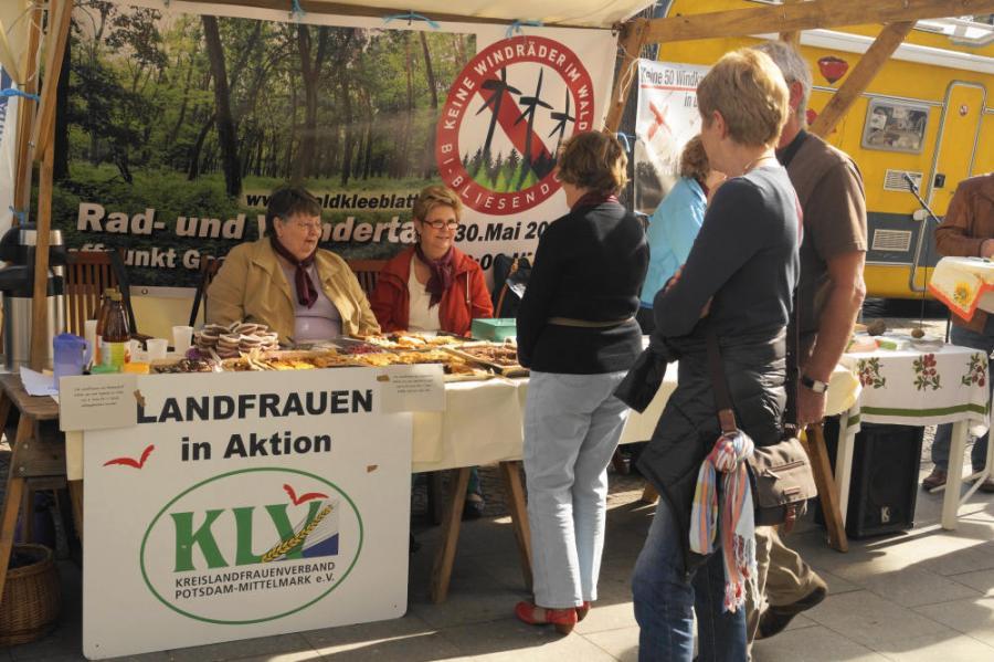 Aktionstag im Werder