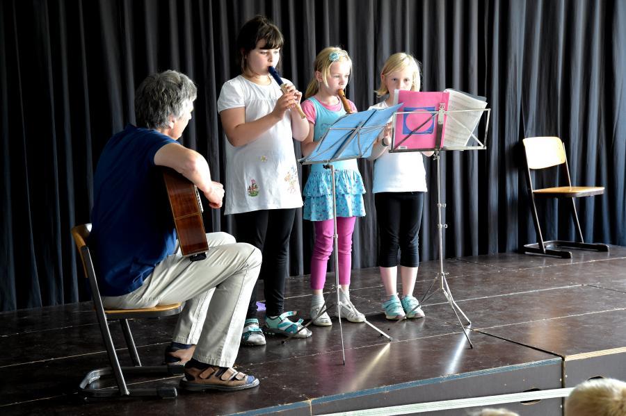 Flötengruppe von Herrn Iburg
