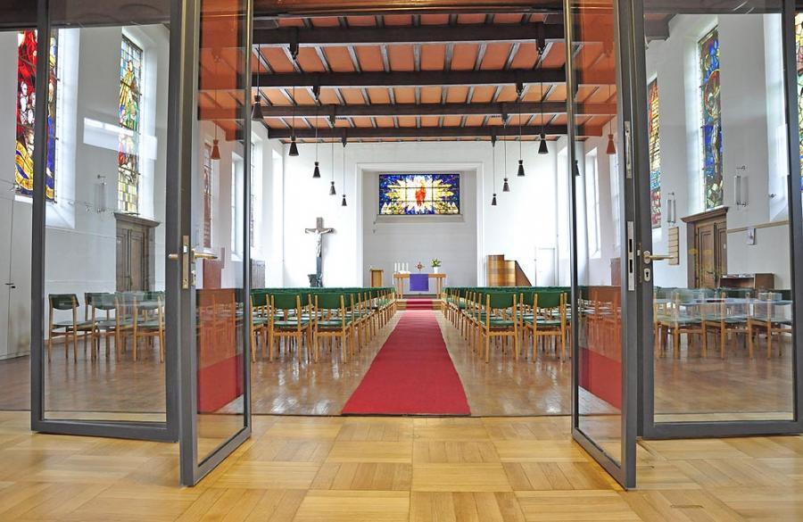 Auferstehungskirche nach Umbau