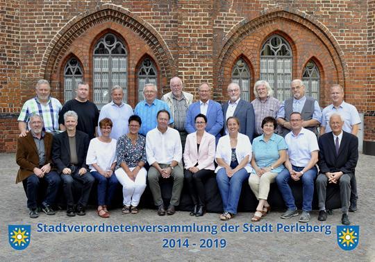 Stadtverordnete der Stadt Perleberg  2014 - 2019