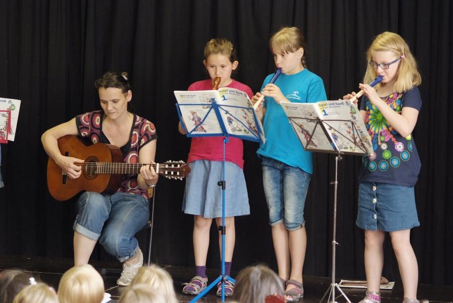 Flötengruppe Konzert 2015