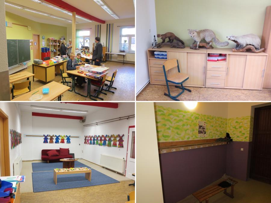 Klassenraum + Hort + Garderobe