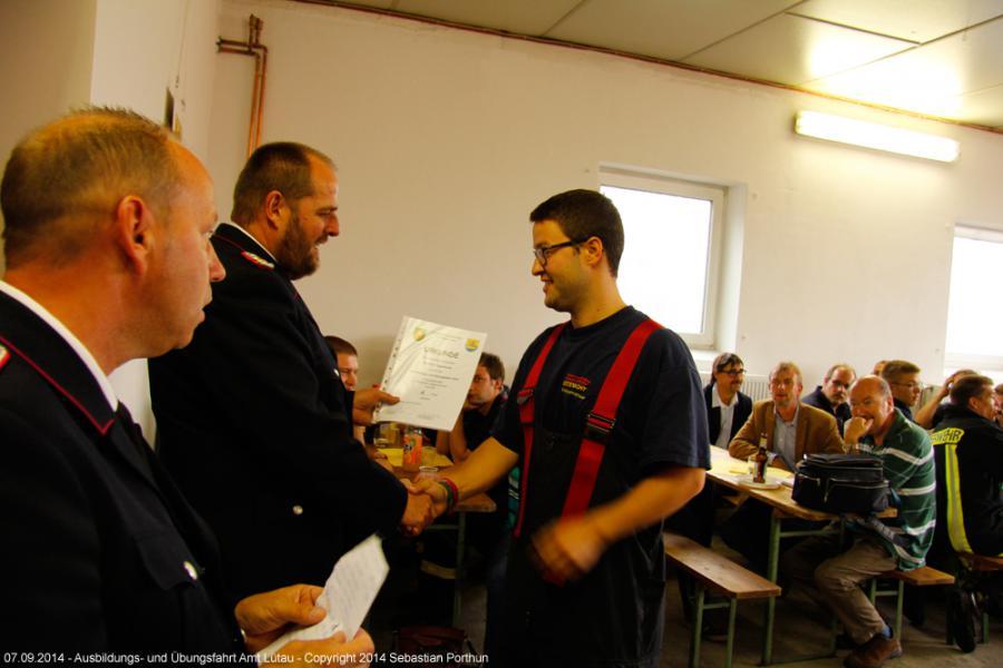 2014 Ausbildungs- und Übungsfahrt 38