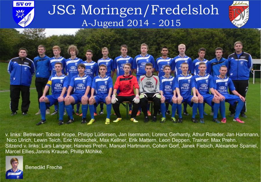 A- Jugend 2014 - 2015