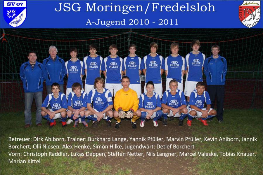 A-Jugend 2010 - 2011