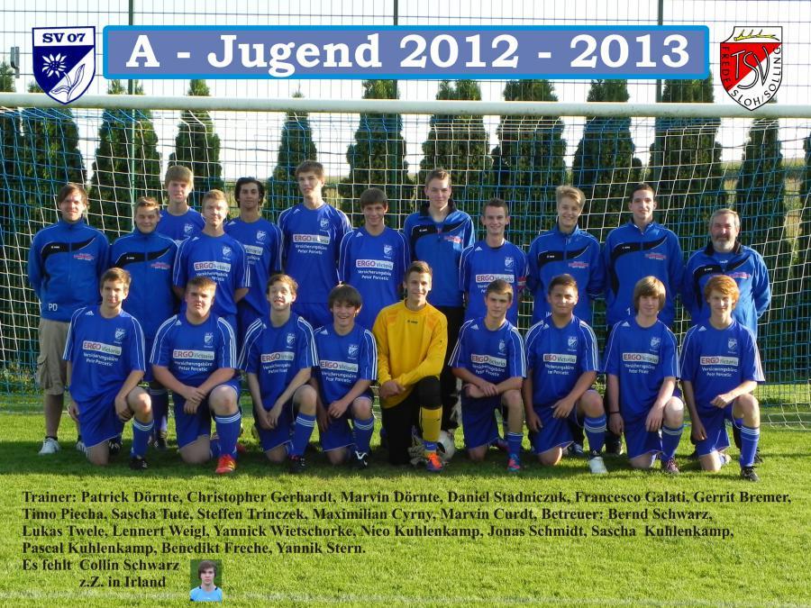 A-Jugend 2012 - 2013
