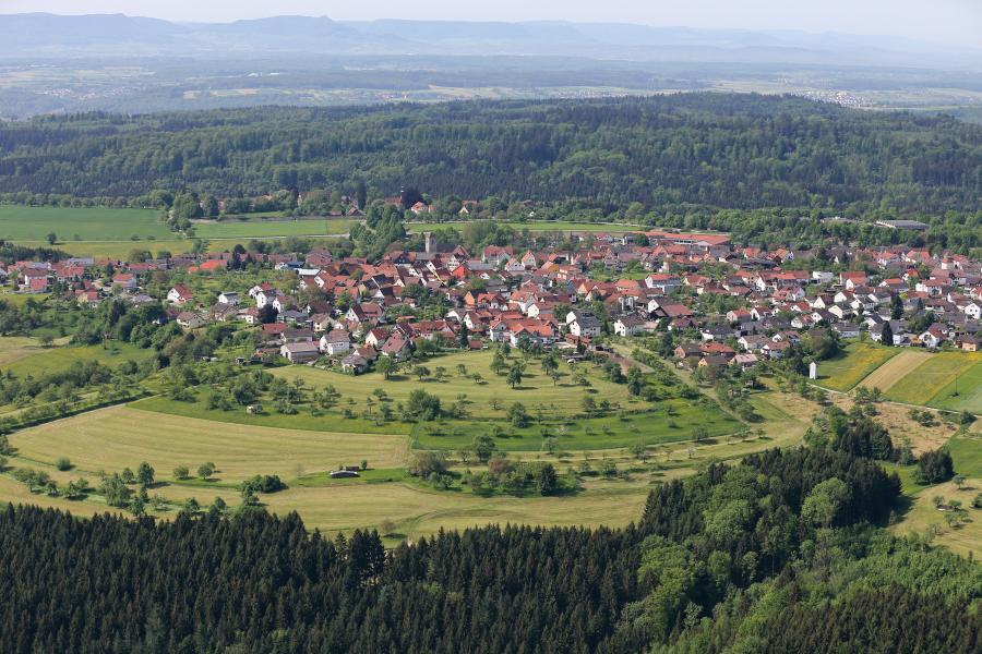 Luftbild Adelberg