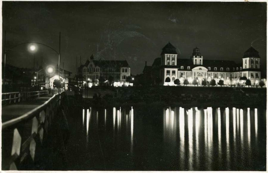 Binz auf Rügen Kurhaus - Nachtaufnahme