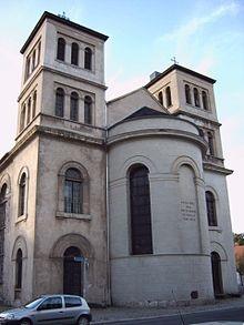 Türme an der Ostseite der Kirche, 1990