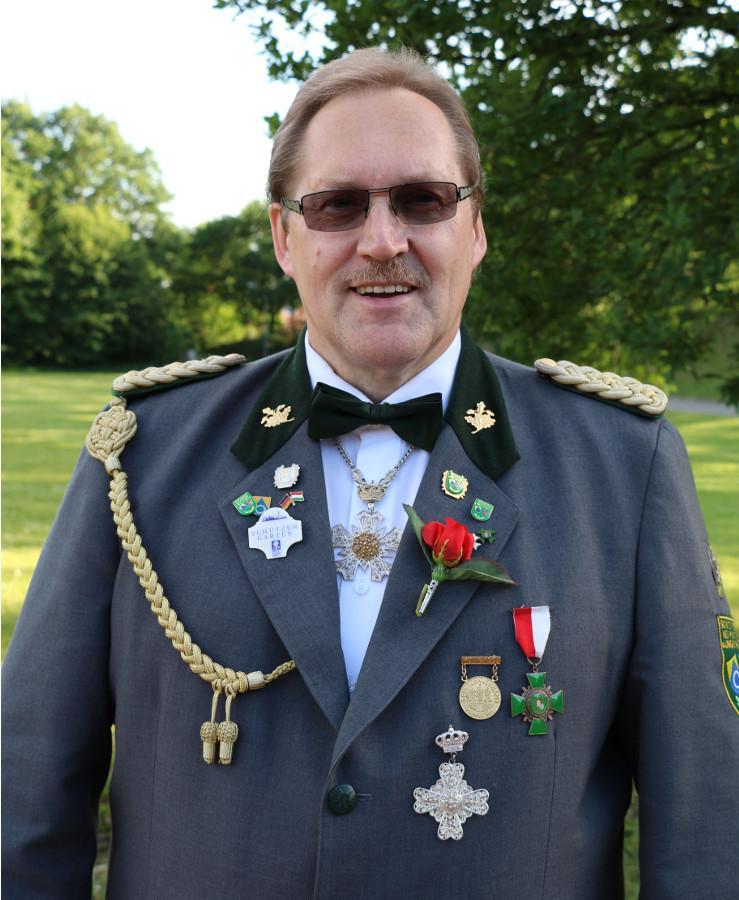 Präsident Hartmut Wiegers 2017