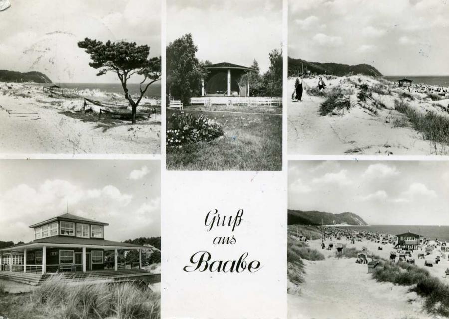 Gruß aus Baabe 1959
