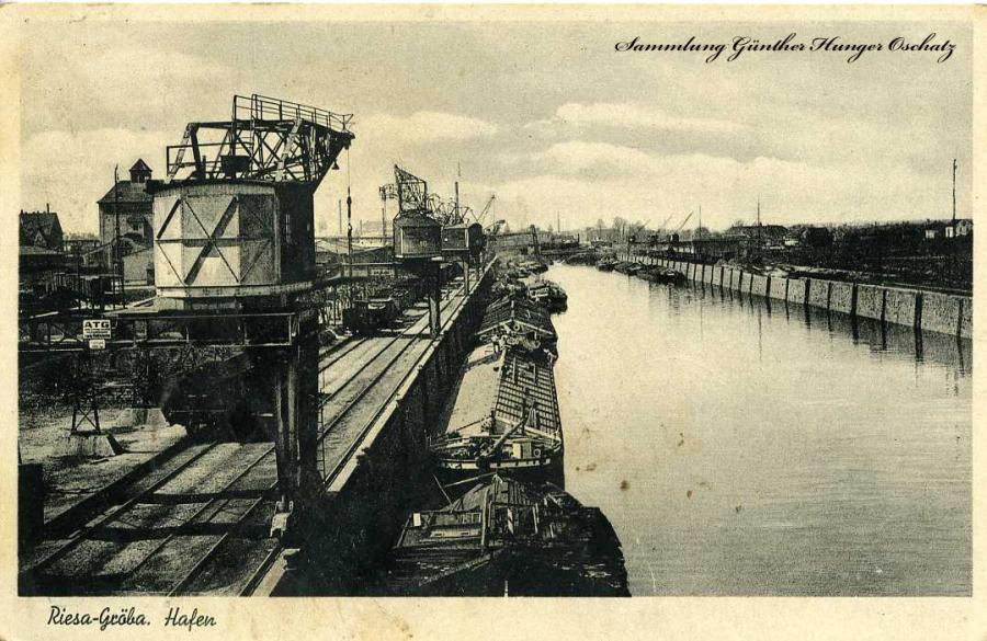 Riesa-Gröba  Hafen