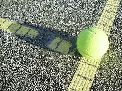 Ball auf Linie